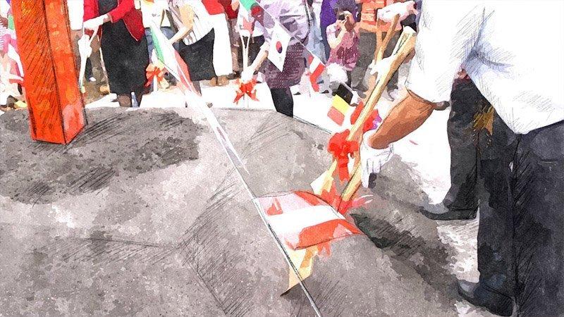 2011.11 文川路正式動土興建