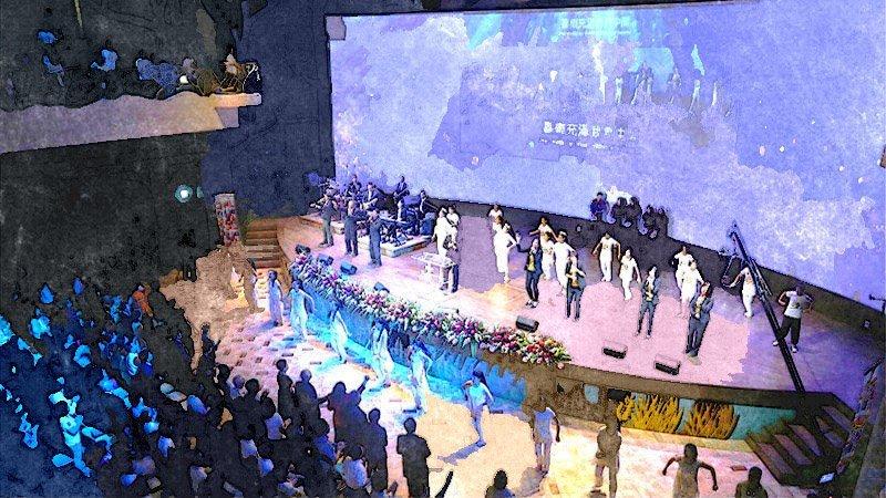 2015.09 榮耀廳新堂感恩禮拜